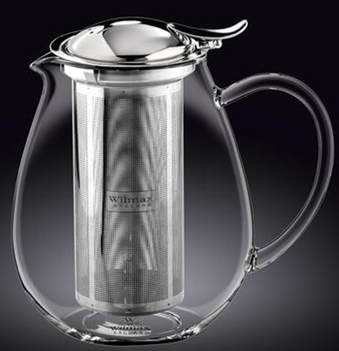 Чайник заварочный Wilmax, WL-888803 / A, с ситечком, 1,3 л чайник заварочный wilmax 1 15 л wl 994000