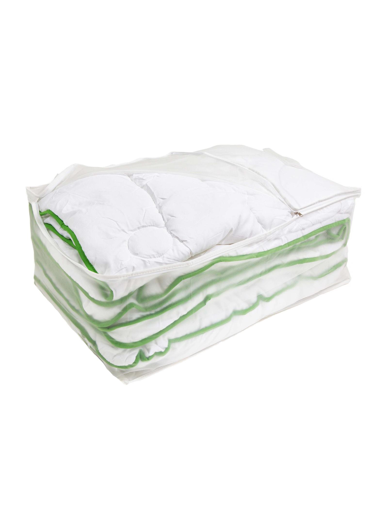 лучшая цена BELLACASA Подкраватный чехол на молнии для хранения постельных принадлежностей