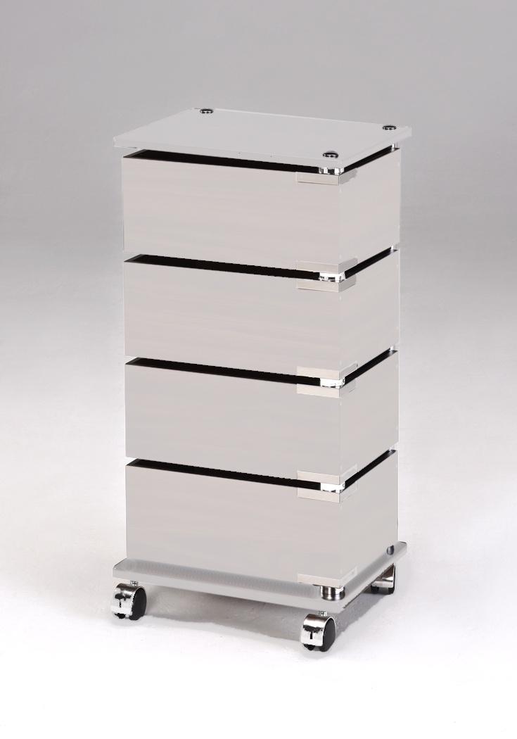 Этажерка My Space FLF007-4LG Oak этажерка с деревянными полочками pristin ws004