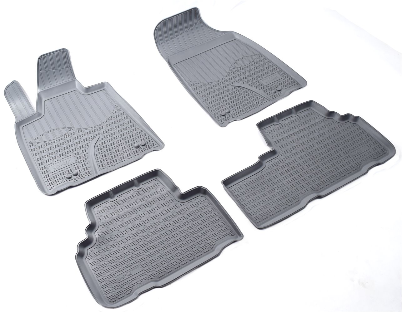 Коврики в салон автомобиля Norplast для Nissan Juke 3D (2010), npl-po-61-10-g, серый коврики в салон автомобиля norplast npl po 46 65
