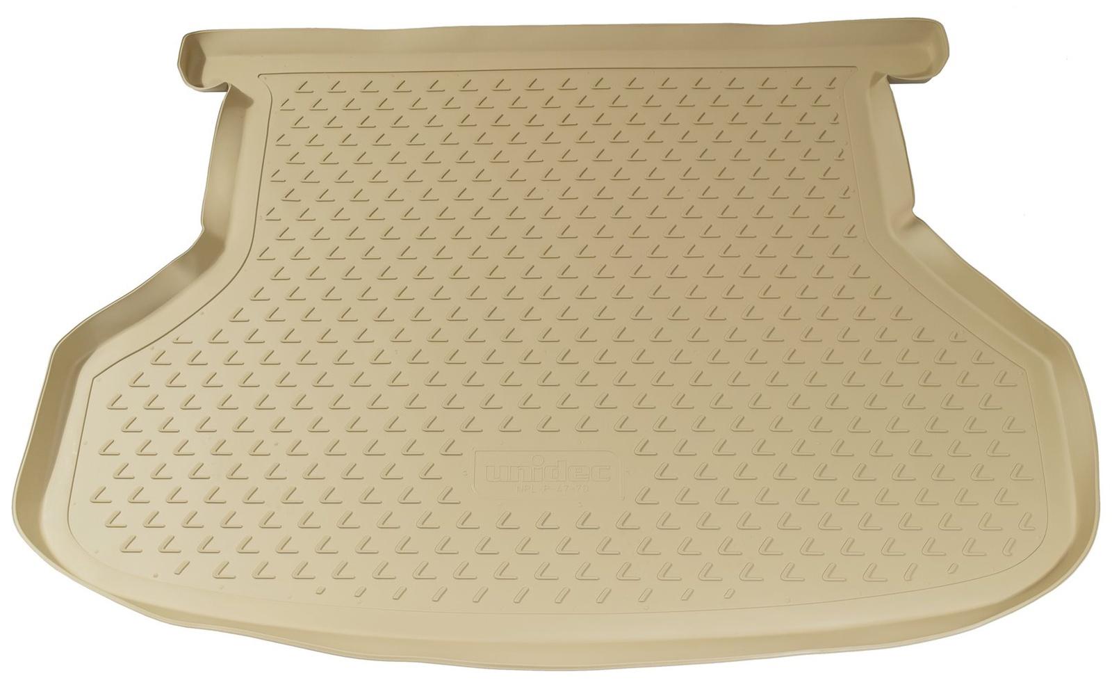Коврик для багажника Norplast для mazda 6, hb, 2002-2007, npl-p-55-07-b, бежевый коврик багажника полиуретан чёрный 2awd norplast npl p 69 04 для renault duster 2011