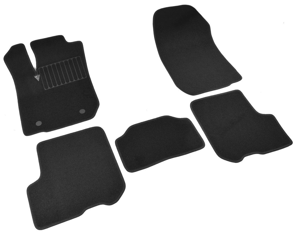 Коврики в салон автомобиля SV Design, для bmw 7 Е-65 ,2001-2008, 1310-unf3-14n, текстильные, черный