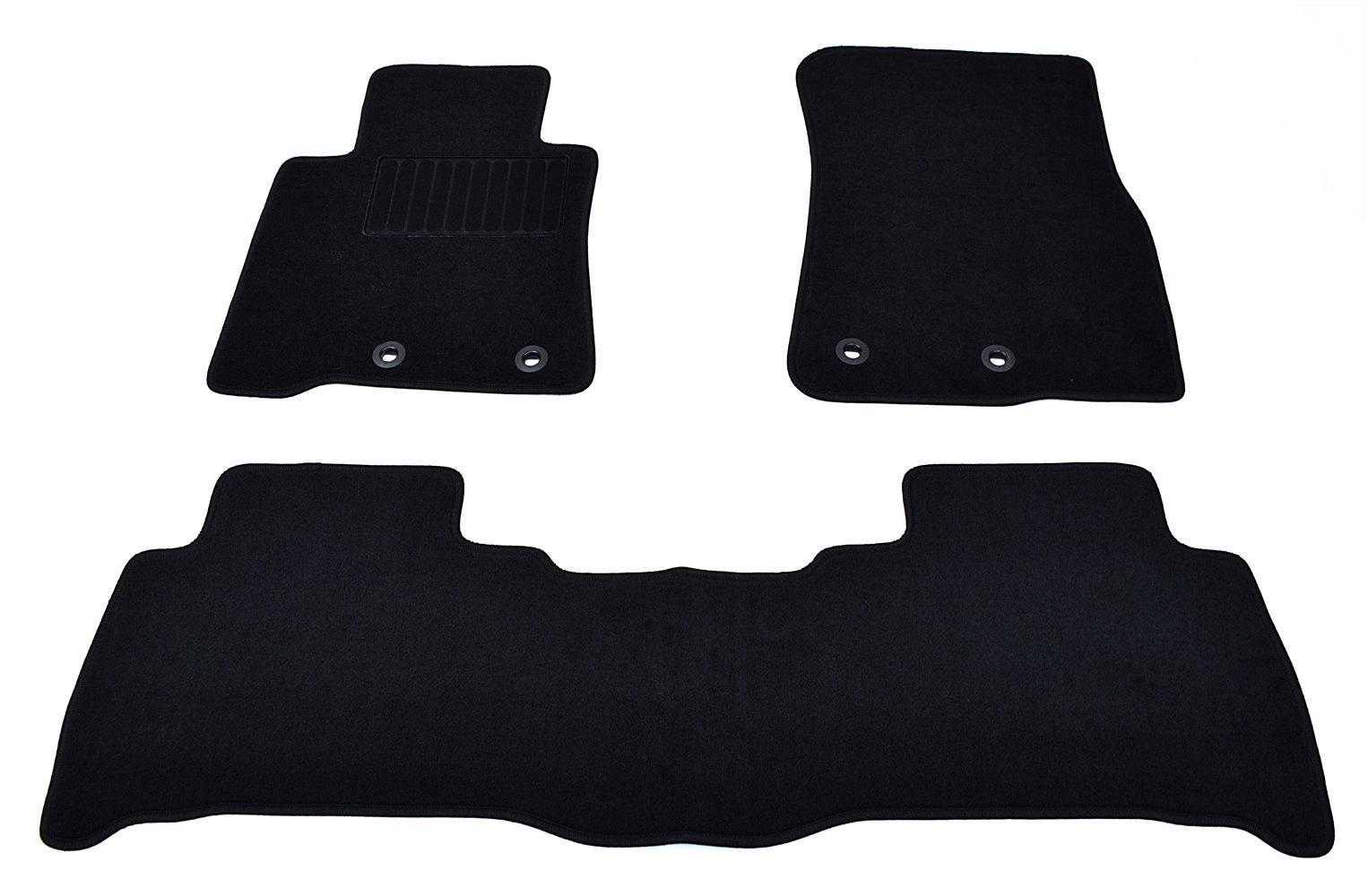 Коврики в салон автомобиля SV Design, для vw passat, b8, 2015-, 5029-unf3-14p, текстильные, черный