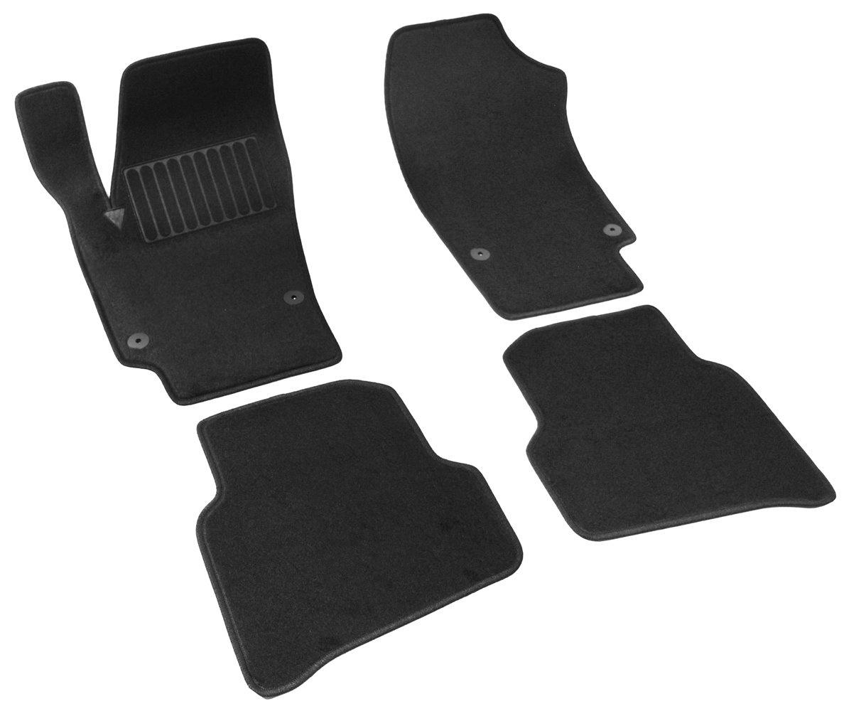 Коврики в салон автомобиля SV Design, для ВАЗ lada largus, 2012-, 3 ряд, 3011-unf3-11n, текстильные, черный