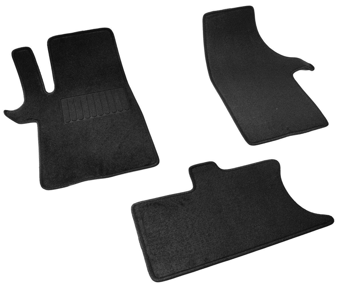 Коврики в салон автомобиля SV Design, для ВАЗ lada x-ray, 2015-, 3013-unf3-15p, текстильные, черный