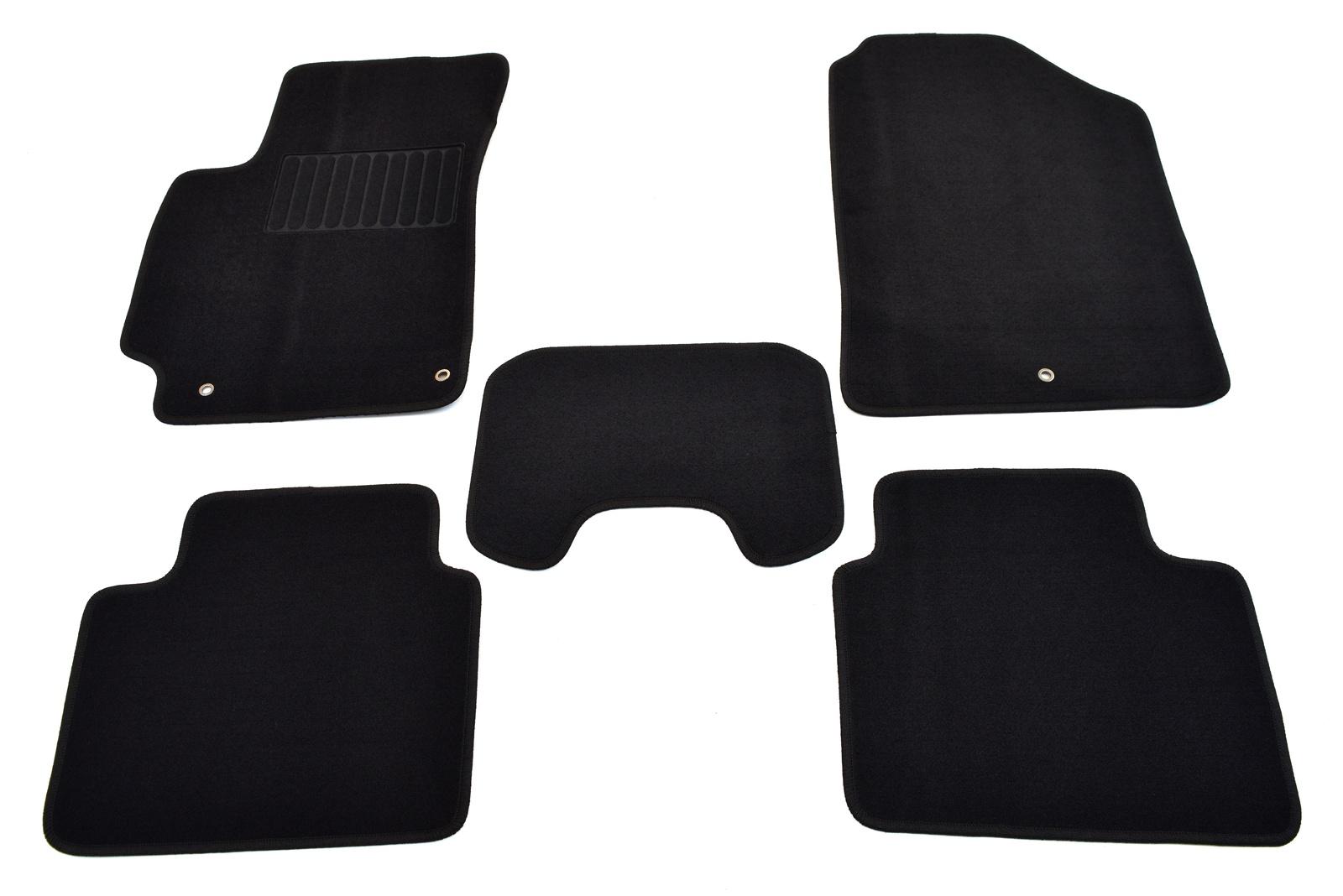 Коврики в салон автомобиля SV Design, для renault duster, 2012-2016 2wd, 4122-unf3-15p, текстильные, черный фаркоп renault duster 2012