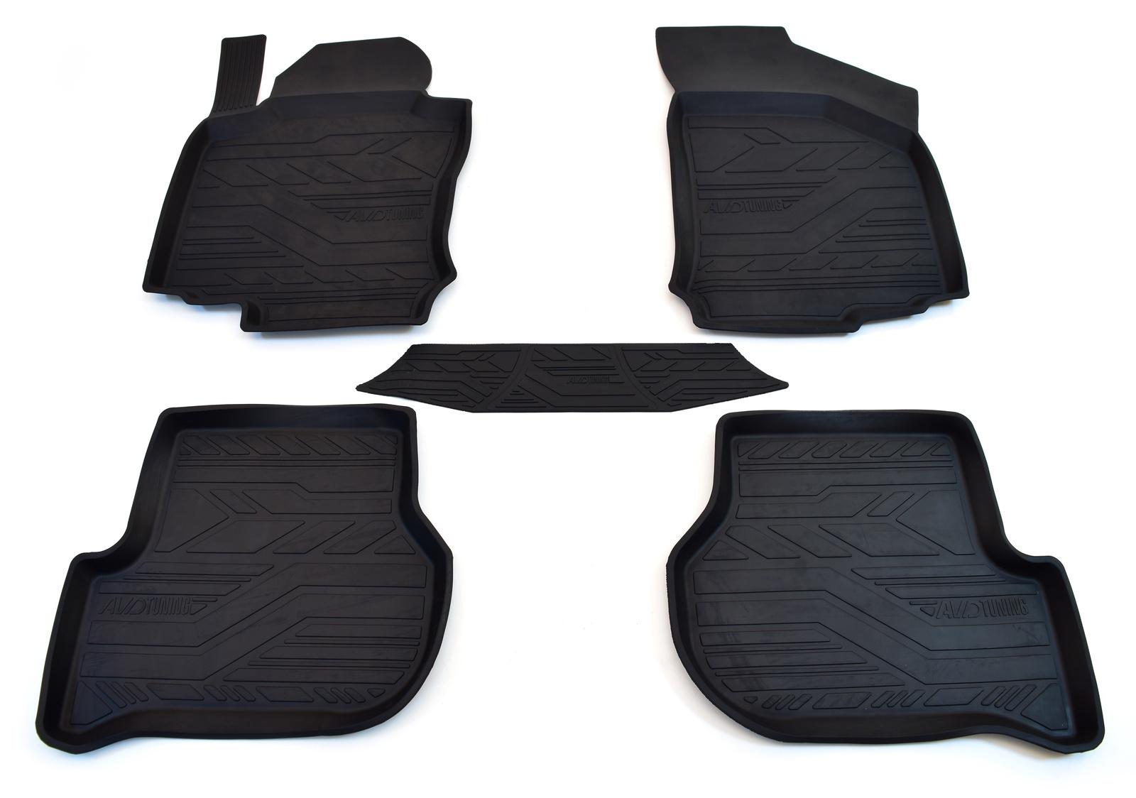 Коврики в салон автомобиля avd tuning для chevrolet spark (2005-2010) )/ ravon r2 (2016-) с бортиком, adrplr031, черный, 5 шт коврики в салон автомобиля avd tuning для volkswagen passat в8 2014 adrplr230 резиновые с бортиком черный