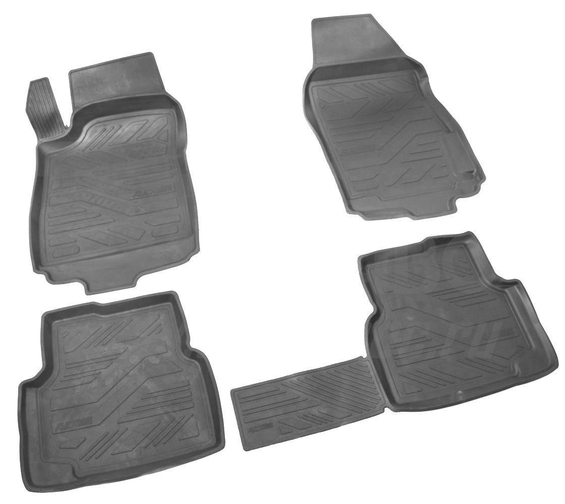 Коврики в салон автомобиля avd tuning для daewoo matiz (2000-) с бортиком, adrplr004, черный, 4 шт коврики в салон автомобиля avd tuning для volkswagen passat в8 2014 adrplr230 резиновые с бортиком черный