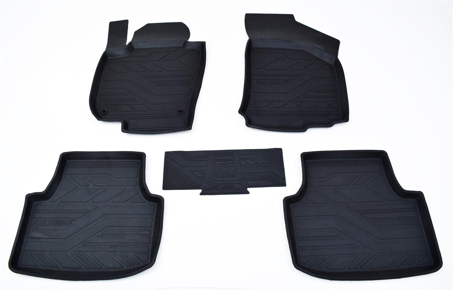 Коврик багажника для hyundai i40 (vf) sd (2011-) (полимер) (полимер) npl-bi-31-19