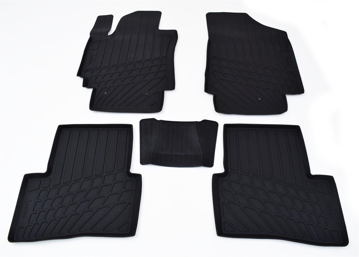 Коврики в салон автомобиля Avtodriver литьевые для Volkswagen Tiguan Ii (2016), Np11-Ldc-95-653, черный gm ldc 300o