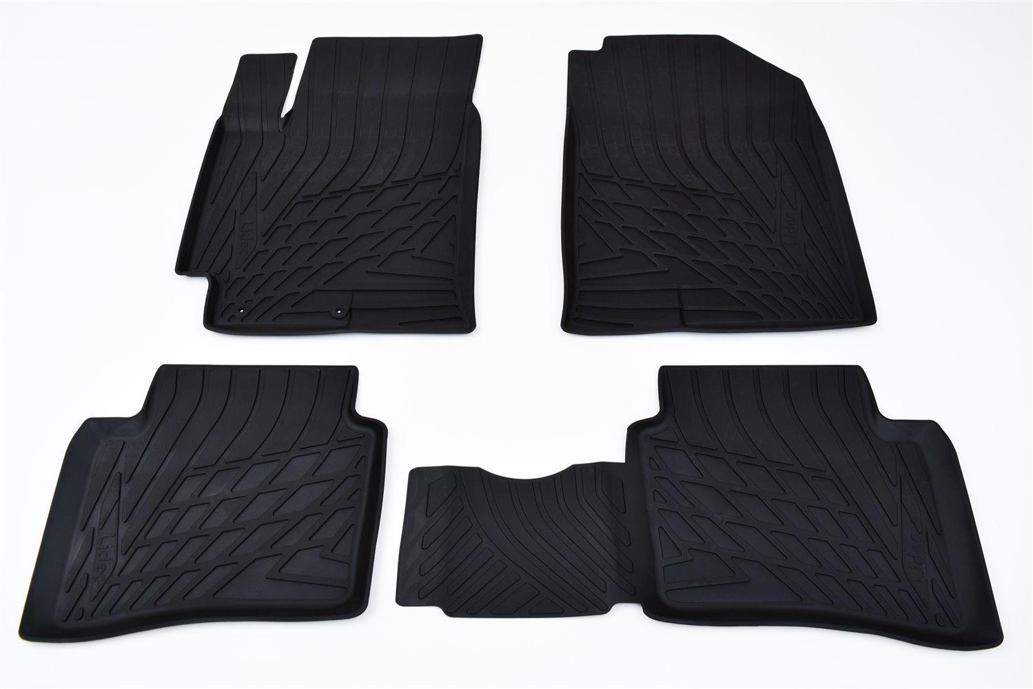 Коврики в салон автомобиля Avtodriver литьевые для Kia Soul, Np11-Ldc-43-701, черный gm ldc 300o