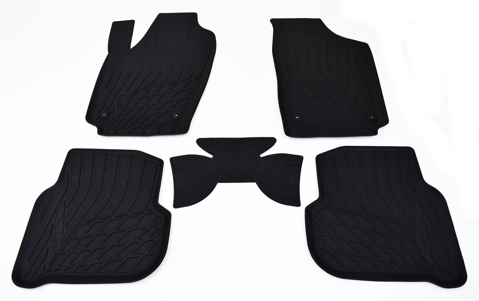 Коврики в салон автомобиля Avtodriver литьевые для Ford Focus Iii (2015), Np11-Ldc-22-183, черный gm ldc 300o