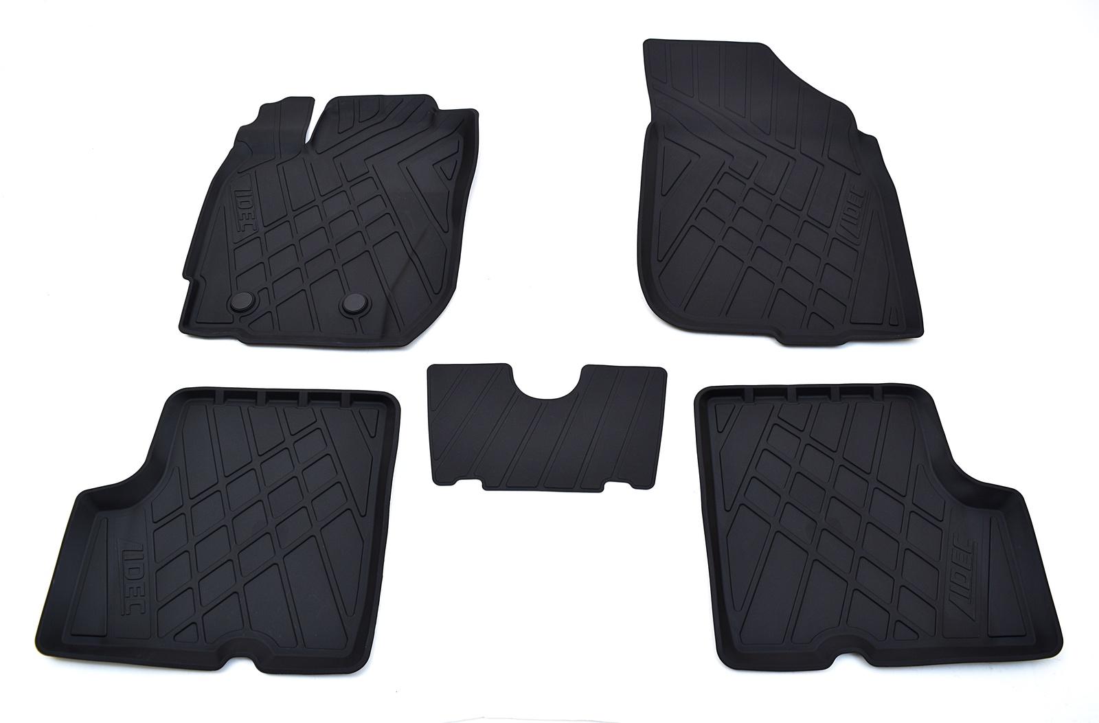 Коврики в салон автомобиля Avtodriver литьевые для Datsun Mi-Do (2015), Np11-Ldc-16-200, черный gm ldc 300o