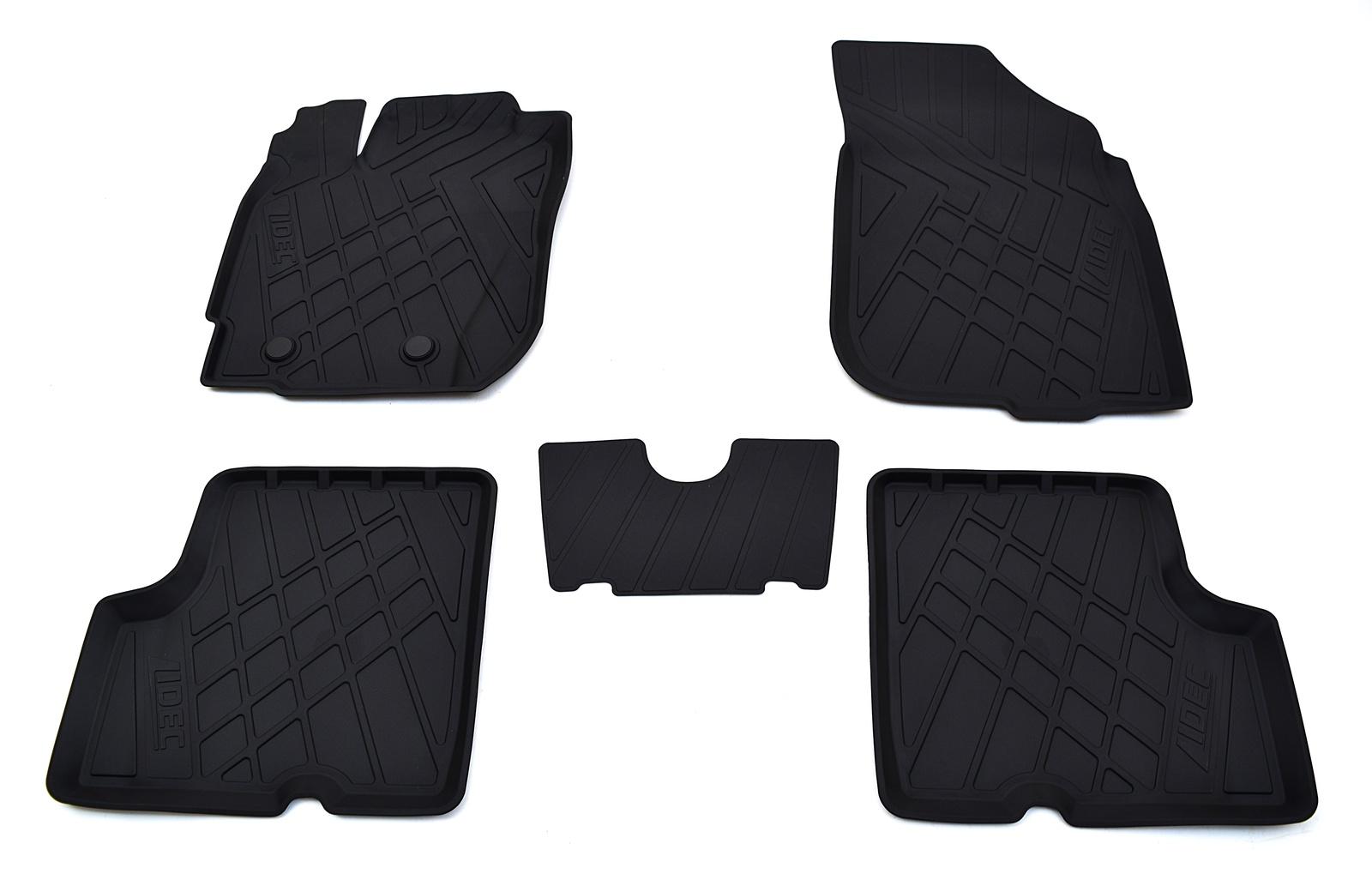 Коврики в салон автомобиля Avtodriver литьевые для Datsun On-Do (2014), Np11-Ldc-16-400, черный gm ldc 300o