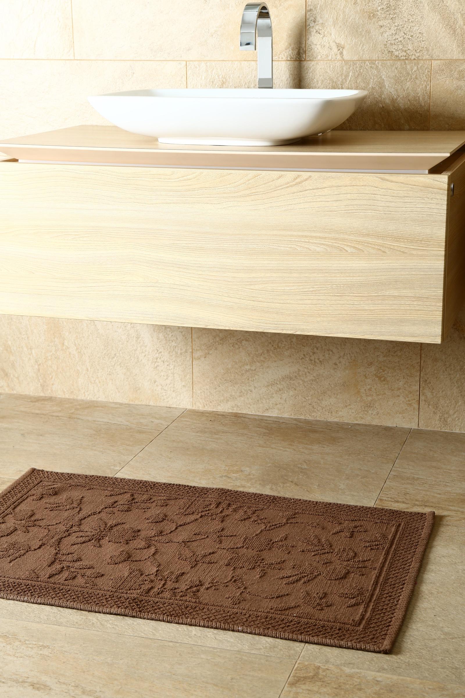 Фото - Коврик для ванной Arloni Коврик Кармен (шоколад) 60*90 arloni коврик самотканный для ванной