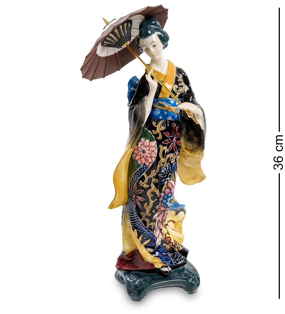 Фигурка Pavone Девушка с зонтом JP-24/ 8, 1015010150JP-24/ 8 Фигурка ''Девушка с зонтом''