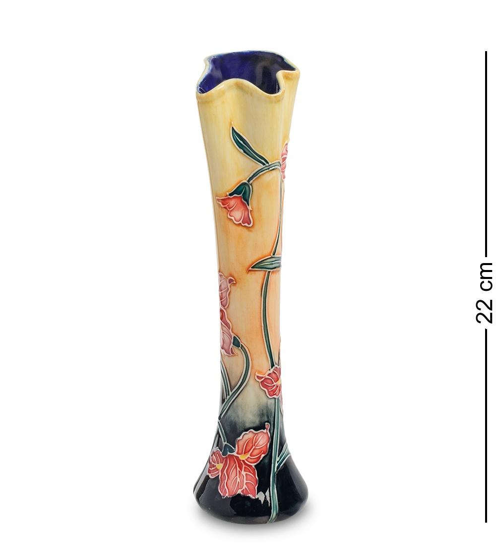 Ваза Pavone JP-186/1, 102764, Фарфор ваза soto для одного цветка 10х25 5 см