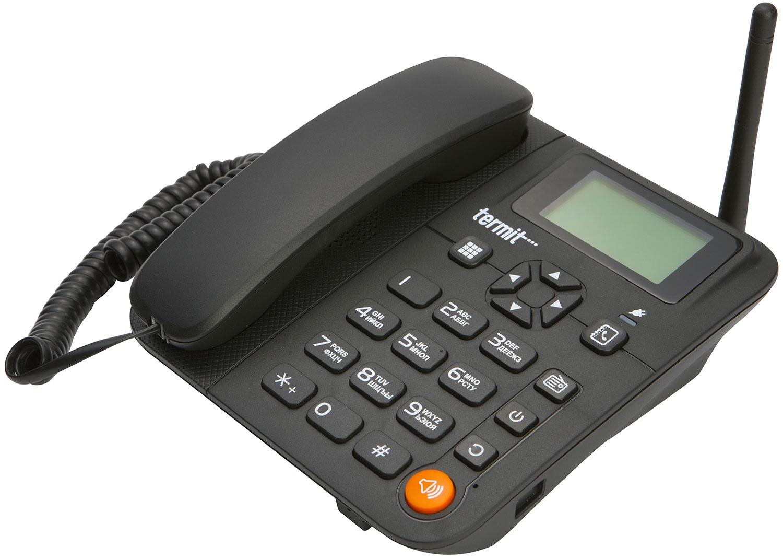 Телефон Termit FixPhone 3G, черный