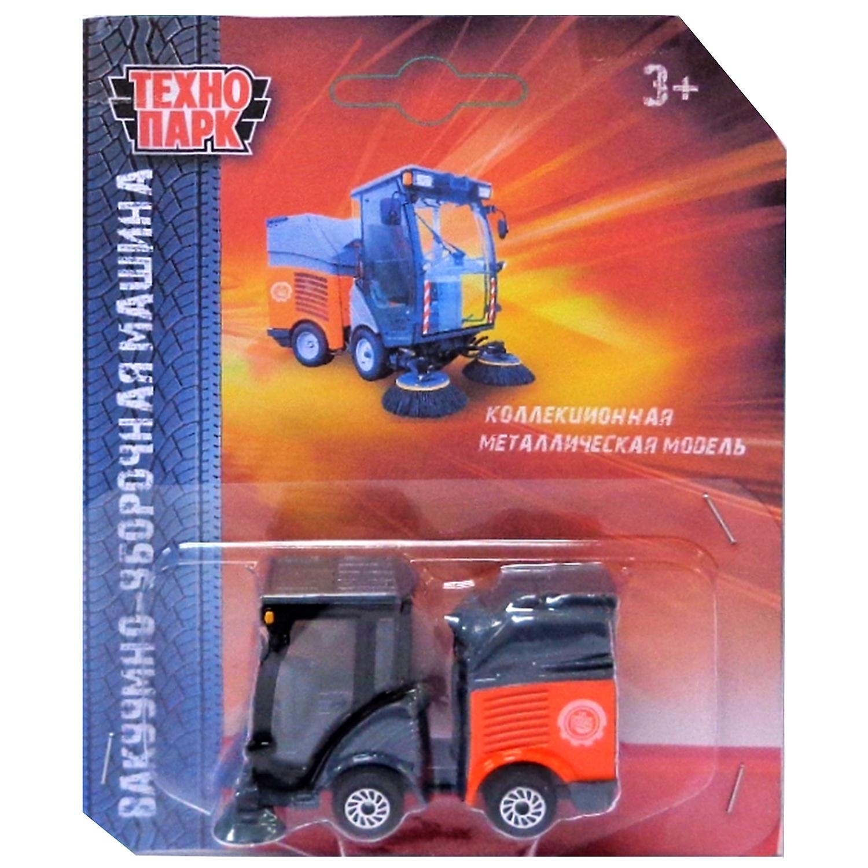 Машинка Технопарк Уборочная машина, 258297 игрушка технопарк машина x600 h09084 r
