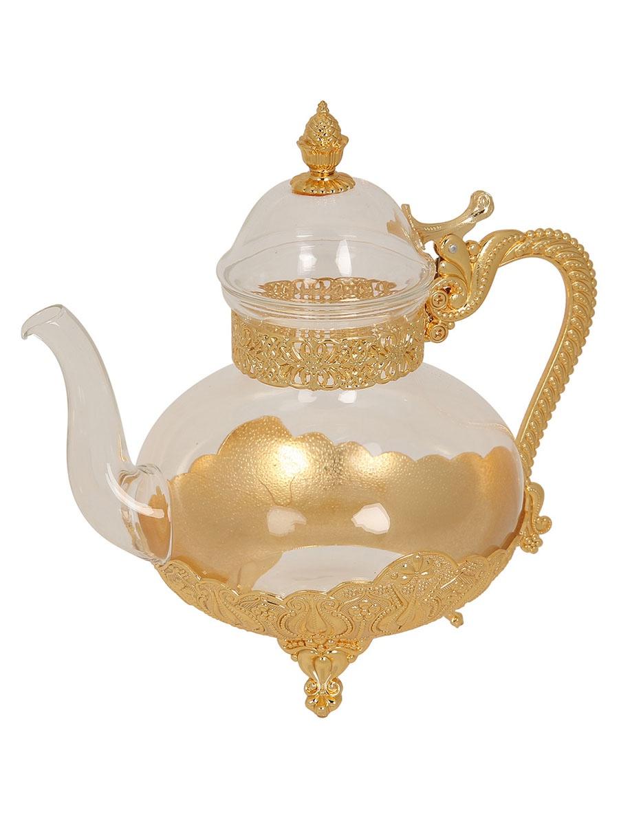 Чайник заварочный MARQUIS 7145-MR, 7145-MR, золотой7145-MRРазмер изделия: высота 22см, диаметр 15см, длина 21см, объем 1,2л . Размер упаковки 24х17х22 см. Вес изделия в упаковке: 1,286 кг.