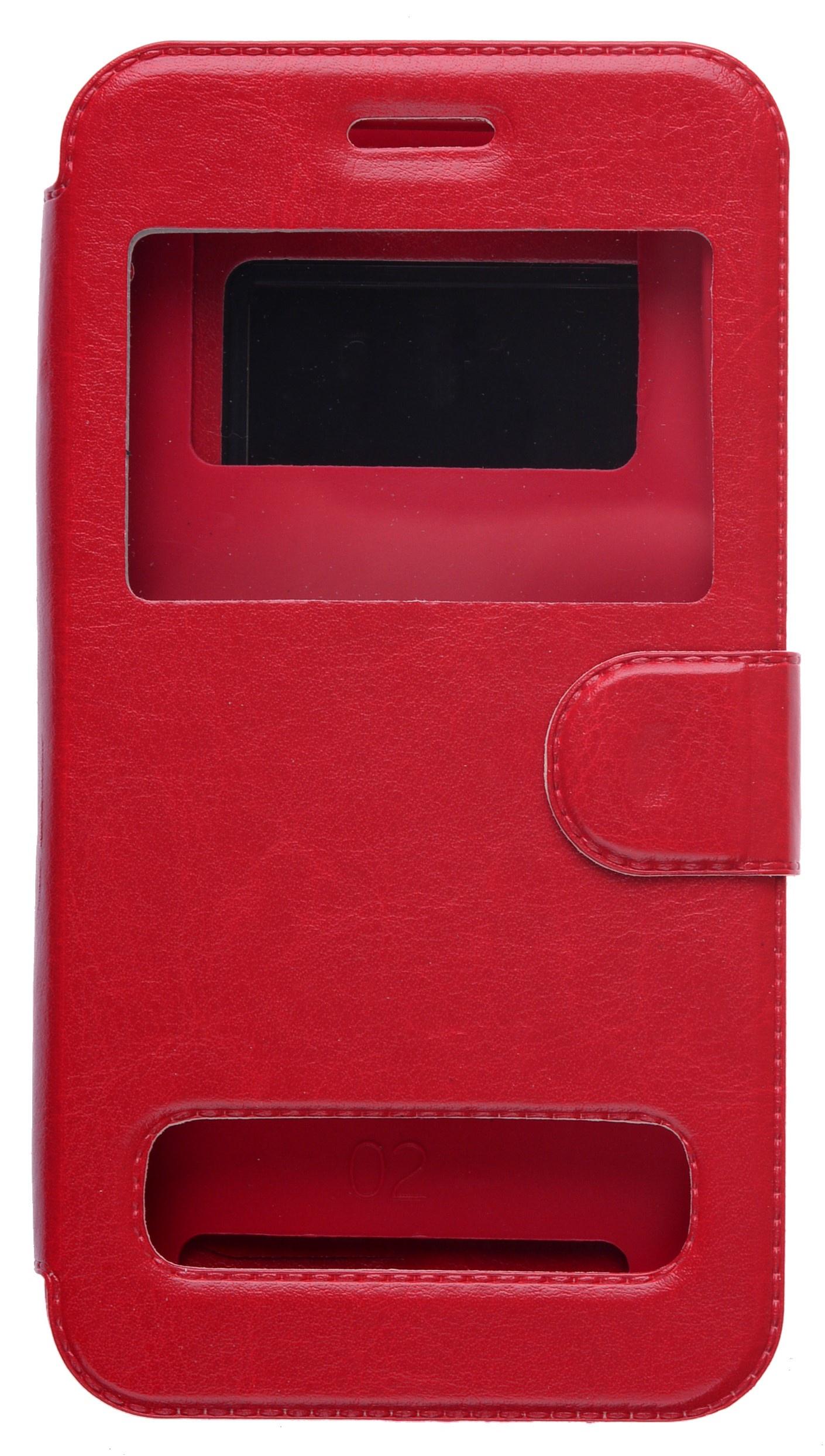 цена на Чехол универсальный skinBOX Silicone Sticker 5, 2000000132570, красный