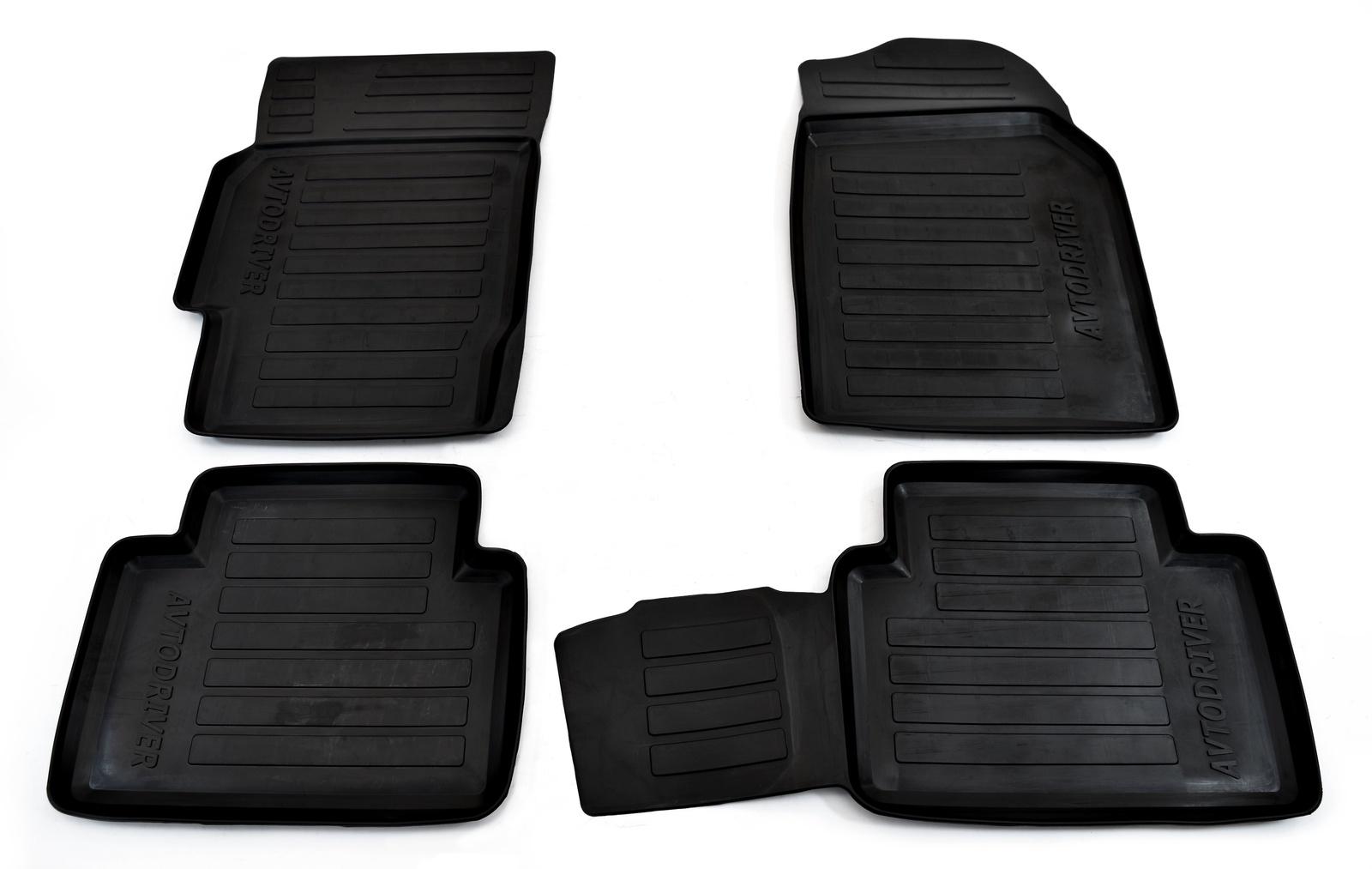 Коврики салона Avtodriver для Mazda 6 (2008-2012) ADRAVG037, резиновые, с бортиком, черный 50pcs sy7208abc sy7208ab sy7208a sy7208 sot23 6