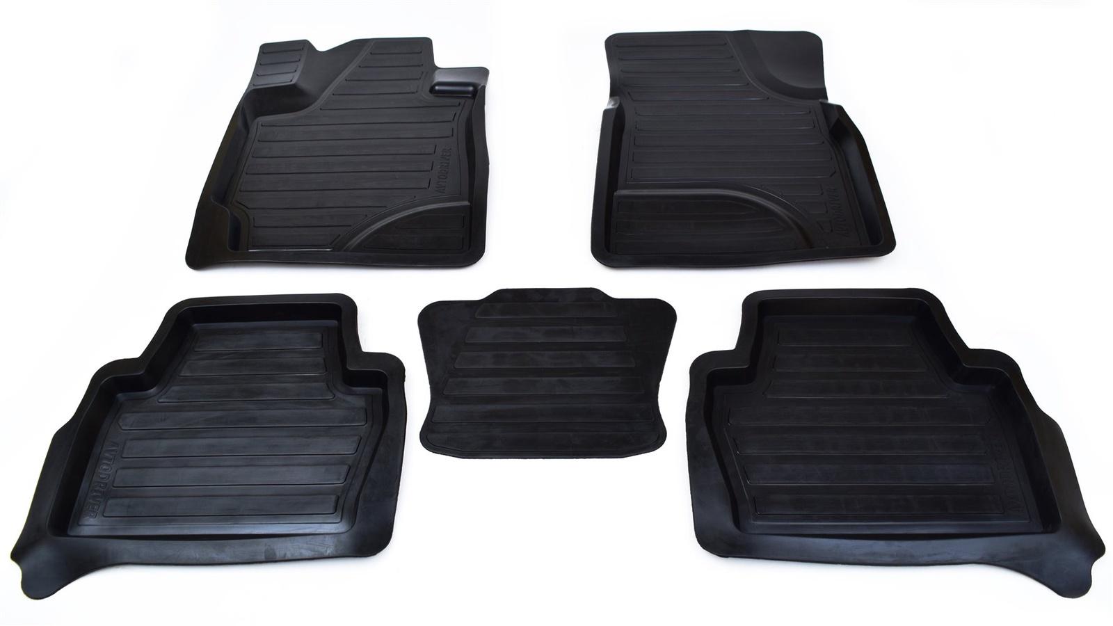Коврики салона Avtodriver для Lexus LX 570 (2007-2012) ADRAVG151, резиновые, с бортиком, черный lx tda200 spa pump impeller