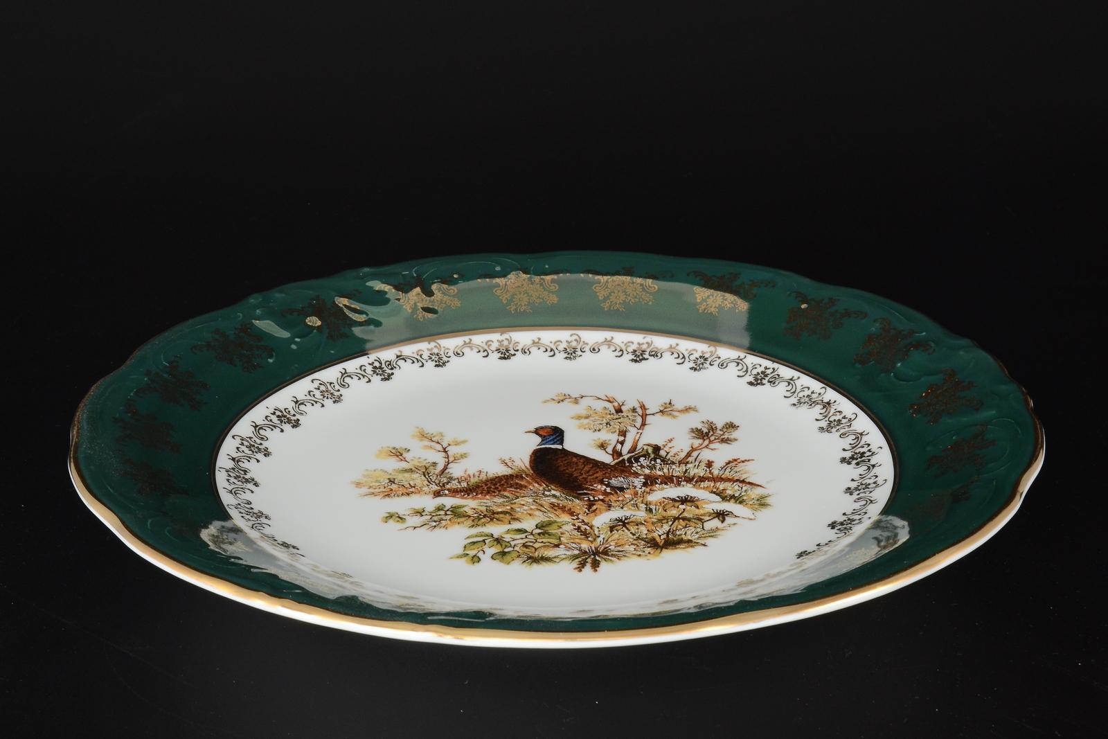 """Блюдо круглое """"Фредерика. Охота Зеленая"""", 11467, 30 см"""