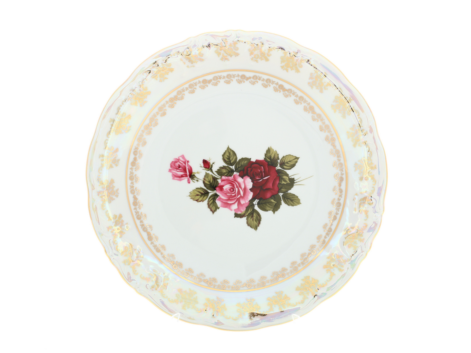 "Блюдо круглое Carlsbad ""Фредерика. Роза"", 31535, 30 см"