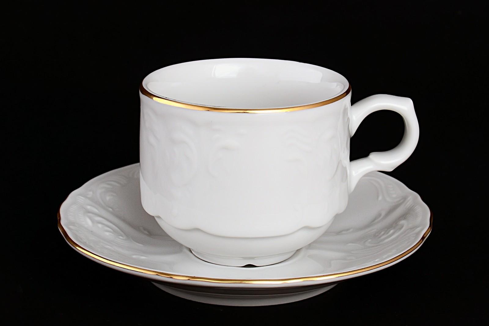 Набор кофейных пар Bernadott Белый узор, 10046, белый, 120 мл10046Бренд Вernadotte покорил ценителей фарфора классическими наборами, созданными по старинным технологиям.Эта посуда наиболее приспособлена для постоянного использования.Отели, рестораны, гостиницы высоко ценят её за высокие прочностные характеристики. Главной ценностью фарфора является его внешний вид — это белый материал, часто с красивой росписью. Благодаря тому, что материал может быть сравнительно тонким, посуда выглядит особенно изящной.