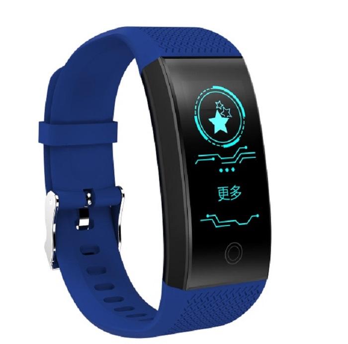 Умный фитнес-браслет ZDK QW18, 4498, blue умный фитнес браслет zdk f3 3393 черно красный page 3 page 3
