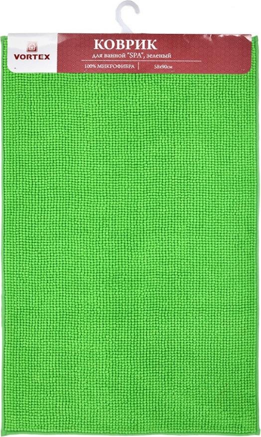 <b>Коврик для ванной Vortex</b> SPA, 24130, зеленый, 58 х 90 см ...