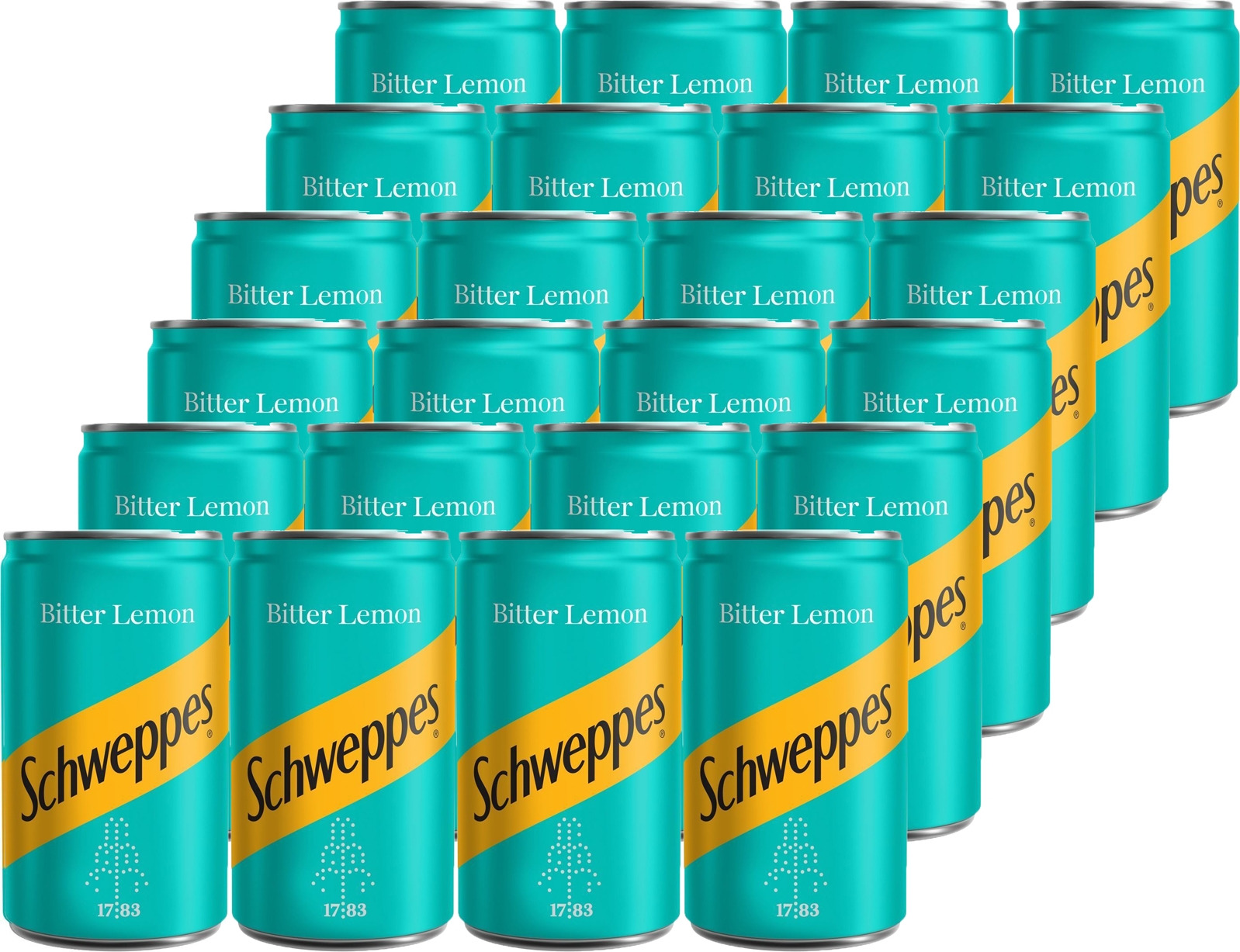 Газированный напиток Schweppes Bitter Lemon, 24 шт по 150 мл