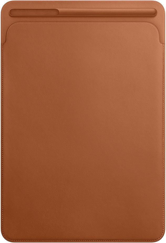 Чехол для планшета Apple Leather Sleeve для iPad Pro 10,5, MPU12ZM/A, saddle brown аксессуар чехол apple ipad pro 12 9 leather sleeve midnight blue mq0t2zm a