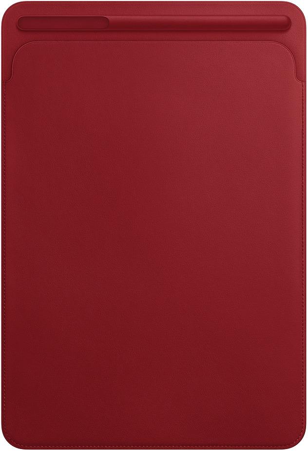 Чехол для планшета Apple Leather Sleeve для iPad Pro 10,5, MR5L2ZM/A, red стилус для планшета apple pencil for ipad pro