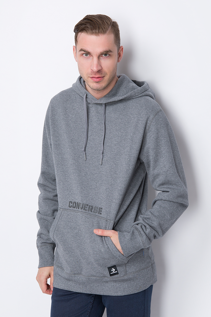 Худи Converse Essentials Reflective Star Chevron Pullover Hoodie city pattern pullover graphic hoodie