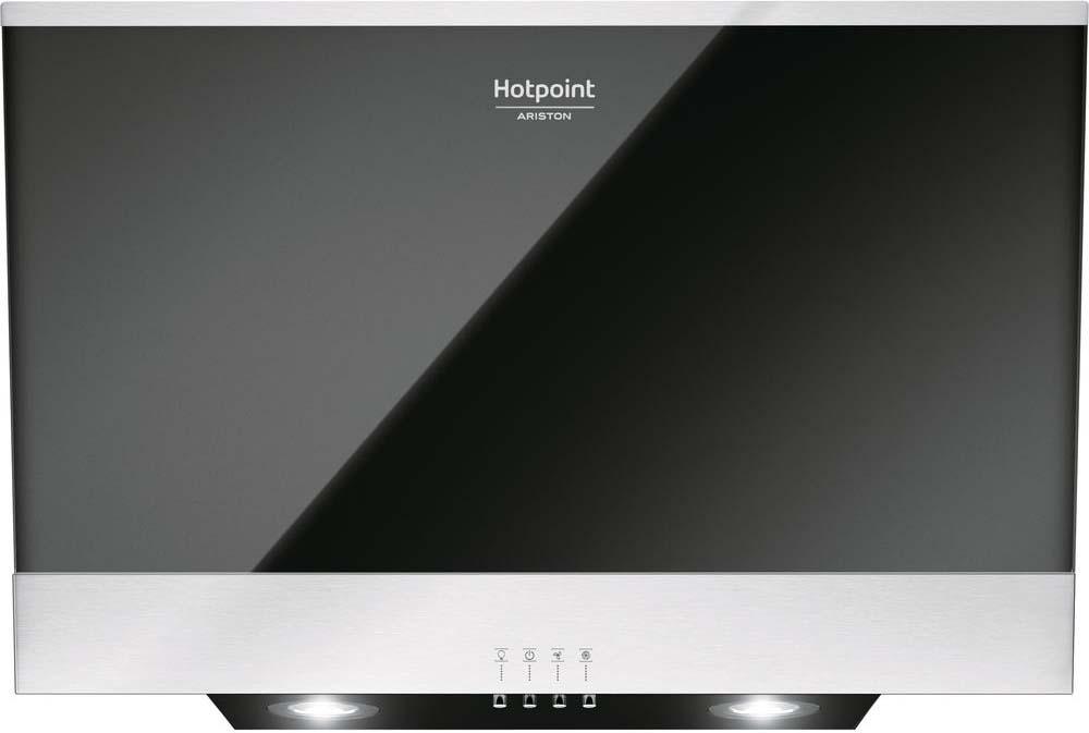 Встраиваемая вытяжка Hotpoint-Ariston HHVP6. 6FLMK, черный Hotpoint-Ariston