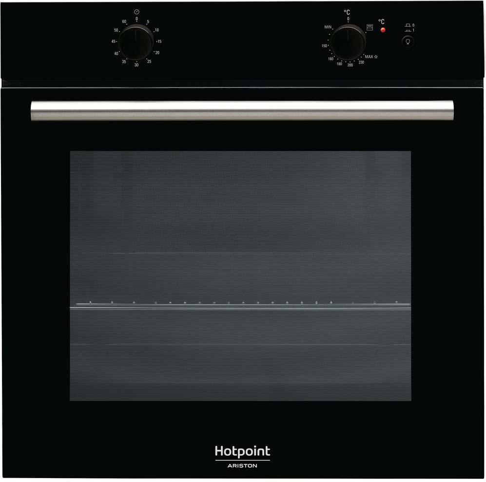 Встраиваемый газовый духовой шкаф Hotpoint-Ariston GA2 124 BL HA, black