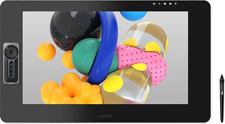 Графический планшет Wacom Cintiq Pro, DTH-3220-RU, черный interactive display wacom cintiq pro 13 fhd lp ru dth 1320a ru
