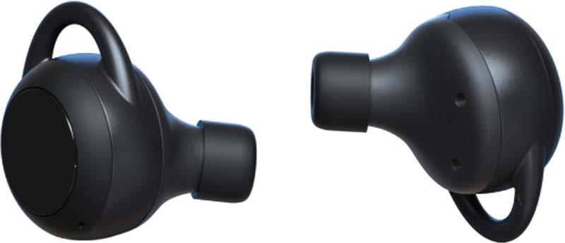 Беспроводные наушники Interstep TWS SBH-530, черный наушники interstep sbh 250 hit черный