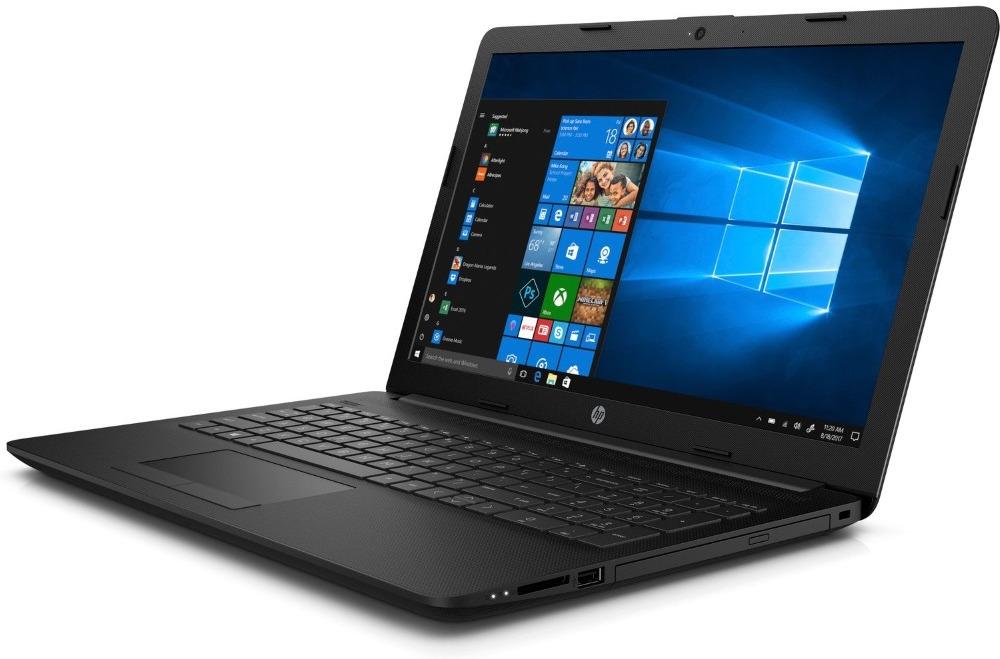 15.6 Ноутбук HP 15-DA0063UR 4JR12EA, черный ноутбук hp 15 da0046ur 4gk51ea intel n5000 4gb 500gb nv mx110 2gb 15 6 dvd win10 silver