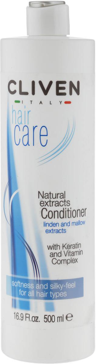 Бальзам для волос Cliven Бальзам на растительных экстрактах7926Придает волосам легкость в расчесывании, дарит им блеск и мягкость благодаря экстрактам липы и мальвы. Его формула содержит витамины В5, Е, РР, которые глубоко проникают в волос, питая его от корней до самых кончиков, а восстанавливающее и защитное действие кератина еще больше укрепляет волосы. Для всех типов волос.
