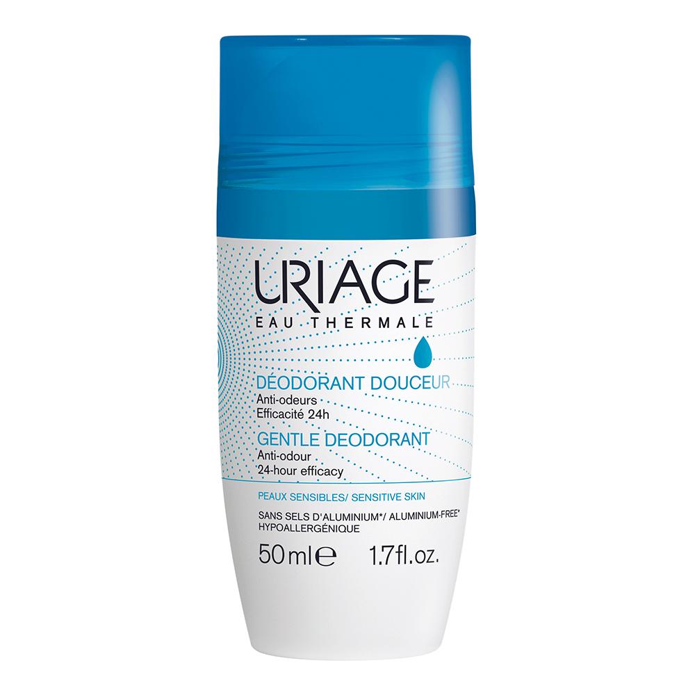 Дезодорант роликовый Uriage 24ч против запаха, 8746968, 50 мл uriage купить в москве