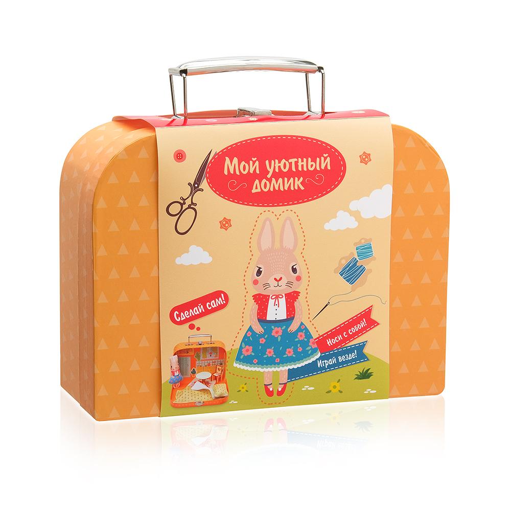 """Игровой набор Мой уютный домик """"Зайка"""" для детского творчеств, DD-4"""