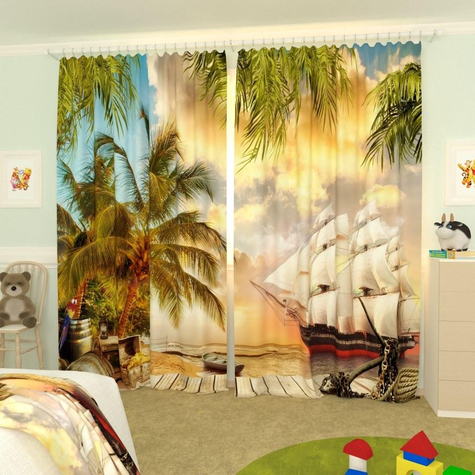 Комплект штор Рим Декор Портьерные шторы, Габардин стоимость