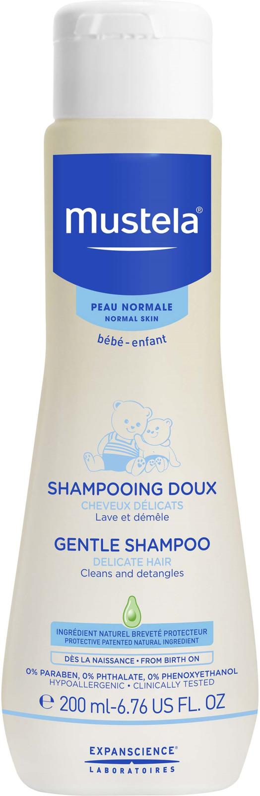 Шампунь детский Mustela мягкий, 200 мл mustela gel lavant doux