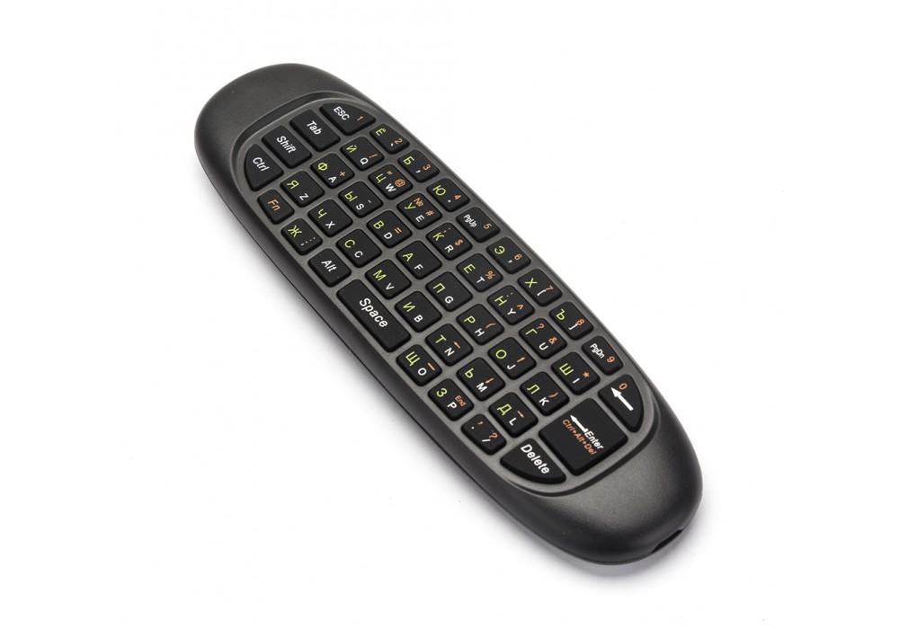 лучшая цена Пульт с гироскопом и клавиатурой INVIN i10