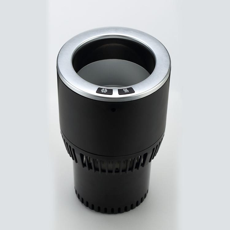 цена на Автомобильный держатель Paltier Термоподстаканник для нагрева и охлаждения напитков Smart Cup Holder, черный, серебристый