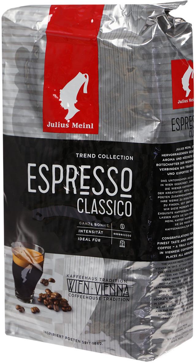Фото - Кофе в зернах Julius Meinl Эспрессо Классико Тренд коллекция, 1 кг кофе в зернах julius meinl эспрессо 1 кг