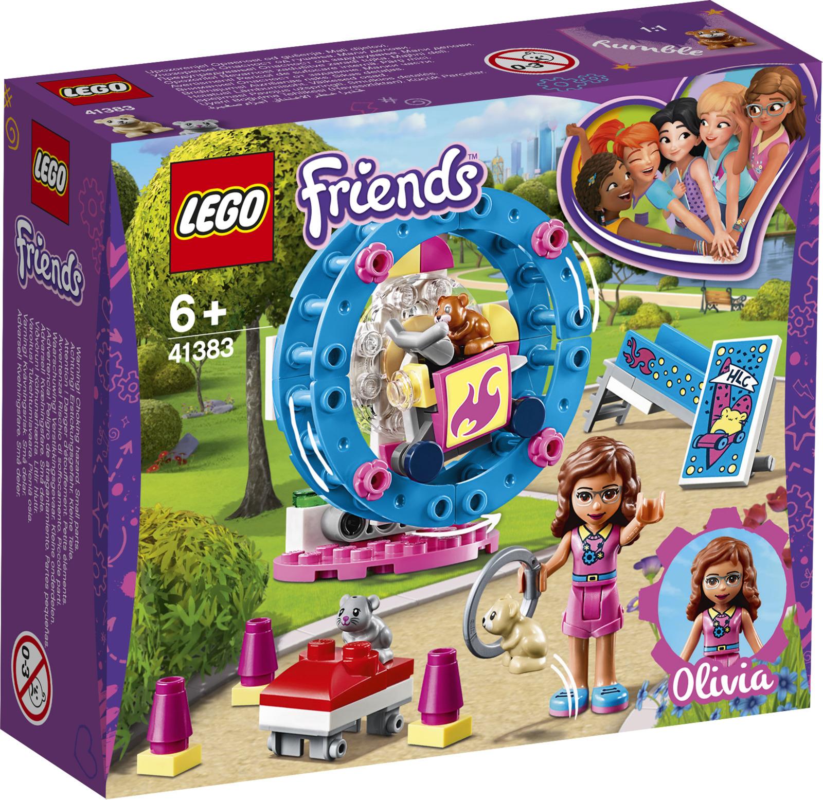 LEGO Friends 41383 Игровая площадка для хомячка Оливии Конструктор lego friends выставка щенков игровая площадка